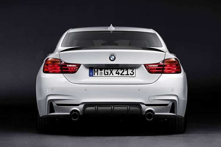 Bmw 4er m performance power und optik nachschlag f r das for Bmw 4er gran coupe m paket