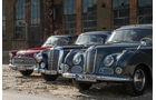 BMW 502, Mercedes 300, Opel Kapitän, Front