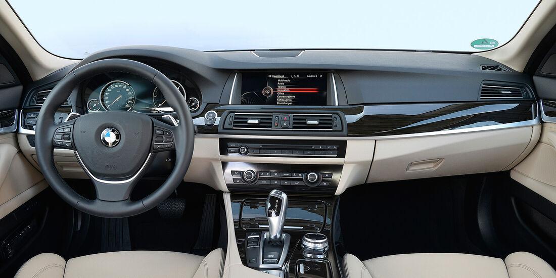BMW 518d, Cockpit