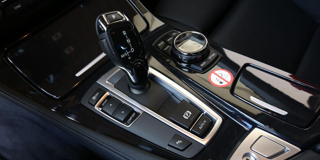 BMW 518d Touring, Schalthebel