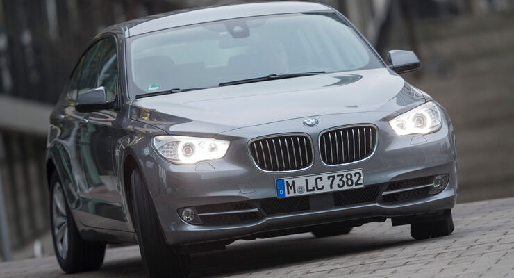 BMW 520d GT, Frontansicht