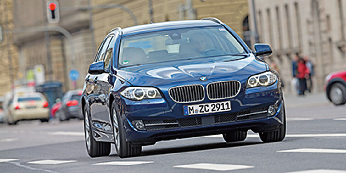 BMW 520d TOURING, Frontansicht