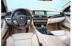 BMW 520d Touring, Cockpit