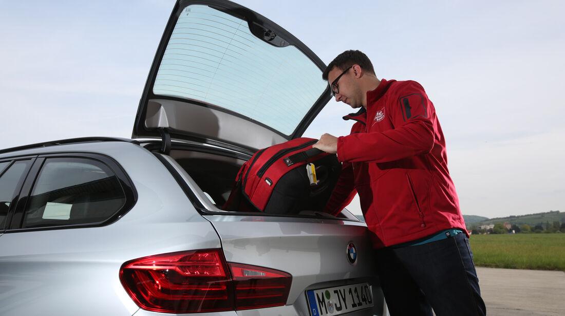 BMW 520i Touring, Heckklappe