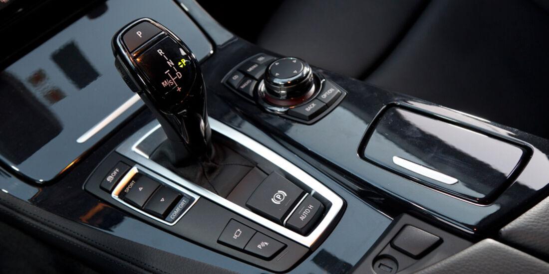 BMW 520i Touring, Mittelkonsole