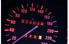BMW 524 TD, Tacho, Rundinstrument