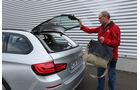 BMW 525d Touring, Heckklappe