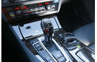 BMW 525d Touring xDrive, Schalthebel