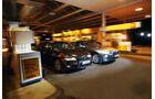 BMW 530, Lexus GS 450h, Front, Tankstelle
