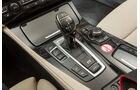 BMW 530d Touring, Schalthebel, Schaltknauf