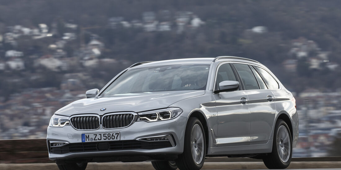 BMW 530d Touring xDrive Luxury Line, Exterieur