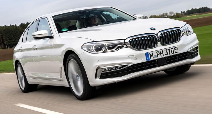 BMW 530e i-Performance (2017) Test