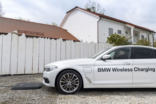 BMW 530e iPerformance Wireless Charging