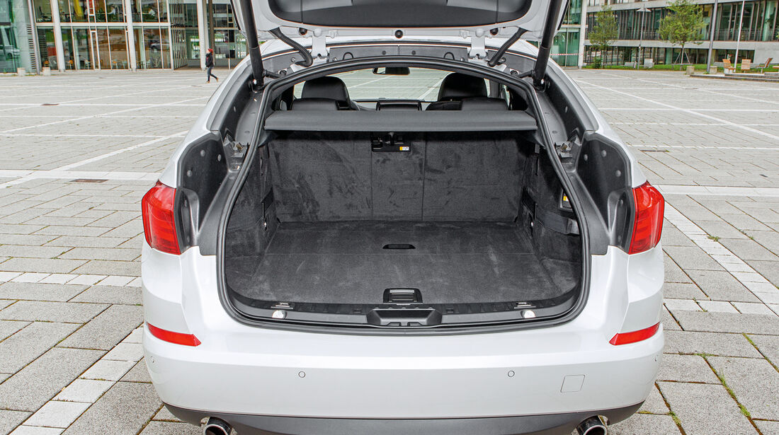 BMW 535i Gran Turismo, Kofferraum