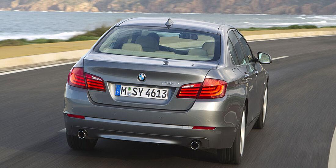 BMW 535i - Heck
