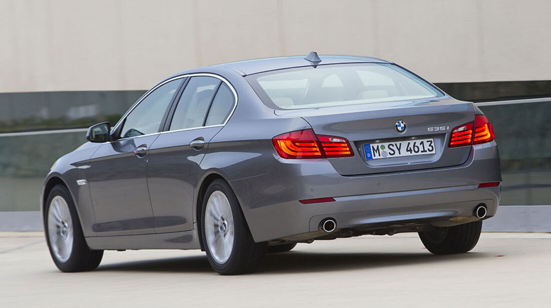 BMW 535i Heckansicht