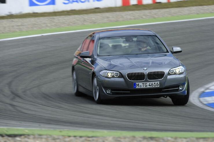 Bmw 535i Im Test Five Konzert Unter Ferner Liefen Auto Motor Und