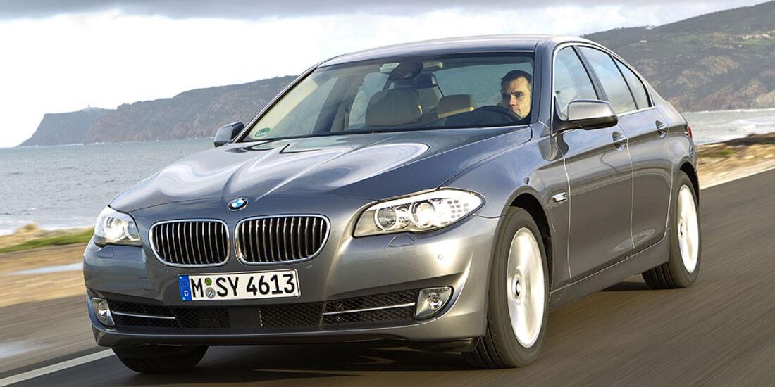 BMW 535i schräg von vorne