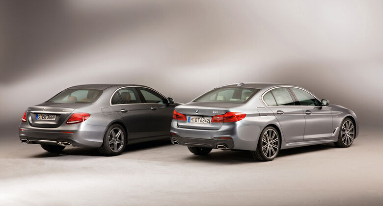BMW 540i xDrive, Mercedes E 400 4Matic