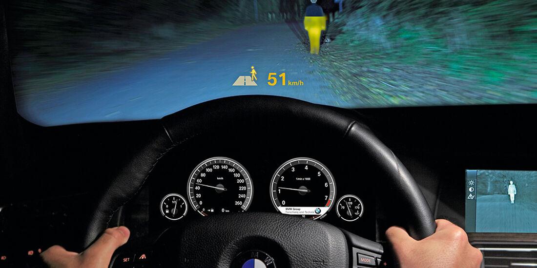 BMW 5er 2013, Wärmebildkamera