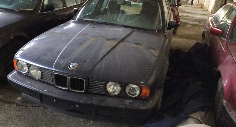 BMW 5er E34 Scheunenfund Bulgarien