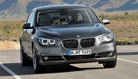 BMW 5er Gran Tourismo, Facelift 2013, Frontansicht