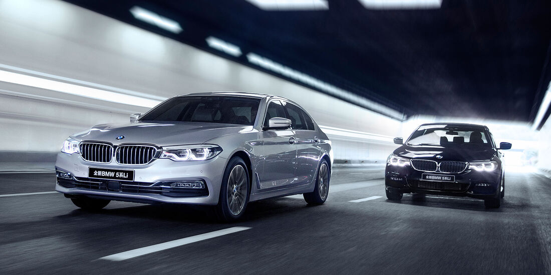 BMW 5er Langversion China