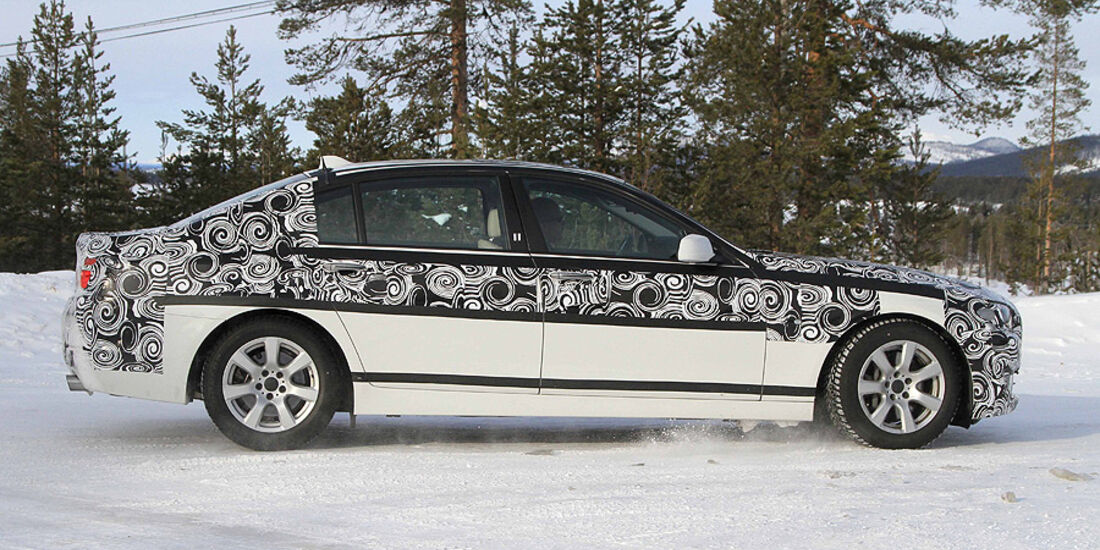 BMW 5er Limousine Lang Erlkönig