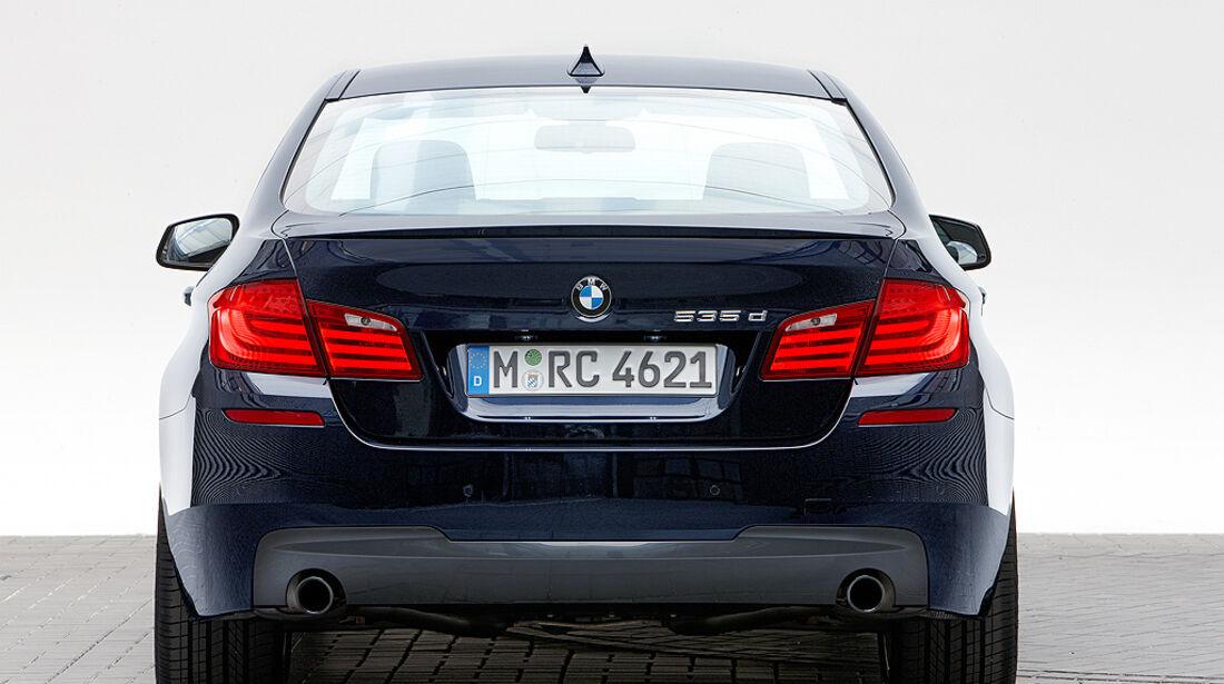 BMW 5er M-Sportpaket, BMW 535d, Heck