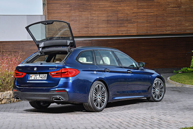 bmw 5er touring g31 kombi kommt im sommer 2017 auto motor und sport. Black Bedroom Furniture Sets. Home Design Ideas