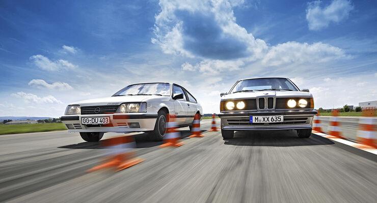 BMW 635 Csi, Opel Monza GSE, Exterieur