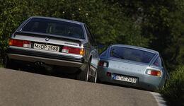 BMW 635 Csi und Porsche 928