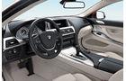 BMW 640i, Cockpit, Lenkrad