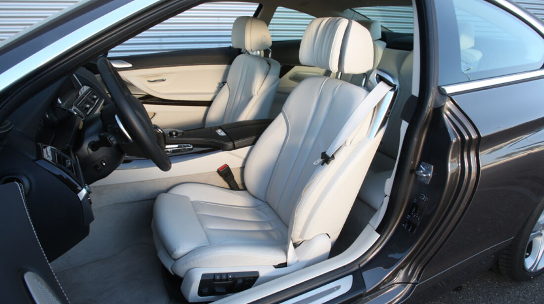 BMW 640i Coupe, Fahrersitz