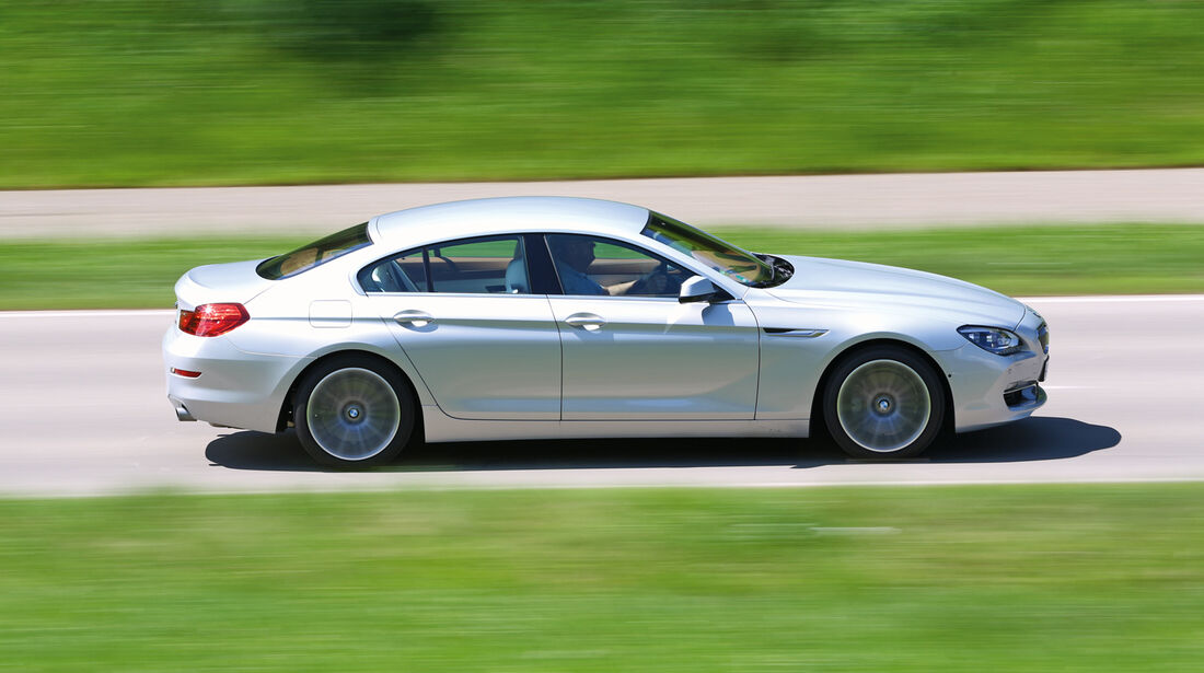 BMW 640i Gran Coupé, Seitenansicht