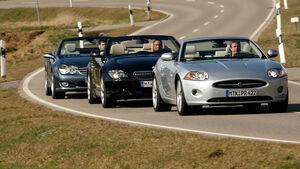 BMW 650i Cabrio - Jaguar XK 4.2 V8 Cabrio - Mercedes SL 500 01