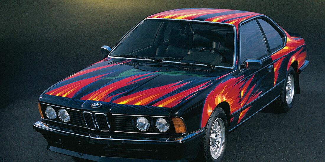BMW 6er, Art Car, Ernst Fuchs, 1982, BMW 635 CSi