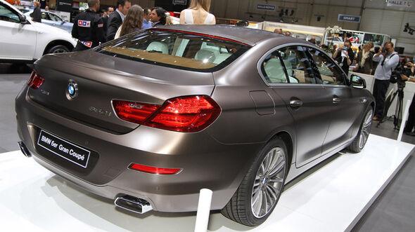 BMW 6er Gran Coupé Auto-Salon Genf 2012