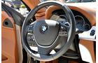 BMW 6er Gran Coupé, Innenraum-Check, Cockpit, Lenkrad