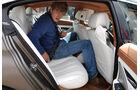 BMW 6er Gran Coupé, Innenraum-Check, Fond, Rückbank