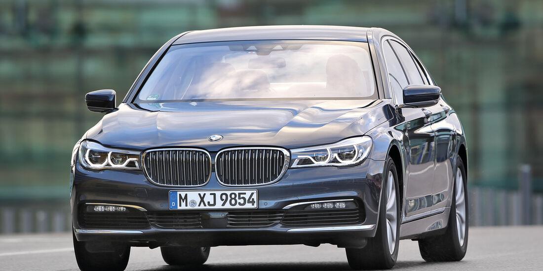 BMW 730d, Frontansicht