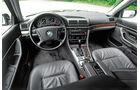 BMW 740i (E38), Cockpit