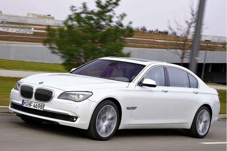 BMW 760i Und Li Erste Fahrt In Dem Neuen Top 7er
