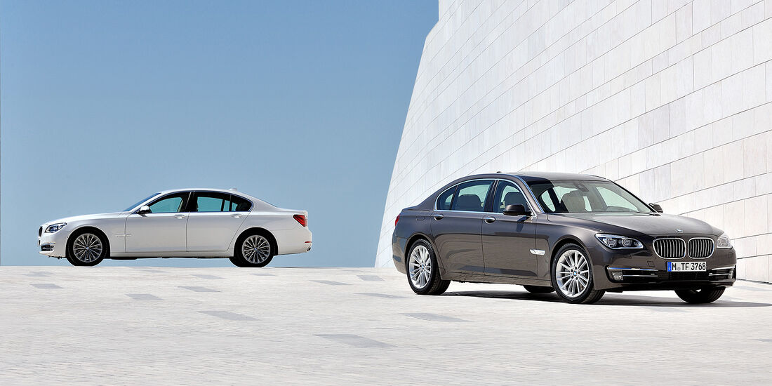 BMW 7er, BMW 7er Langversion