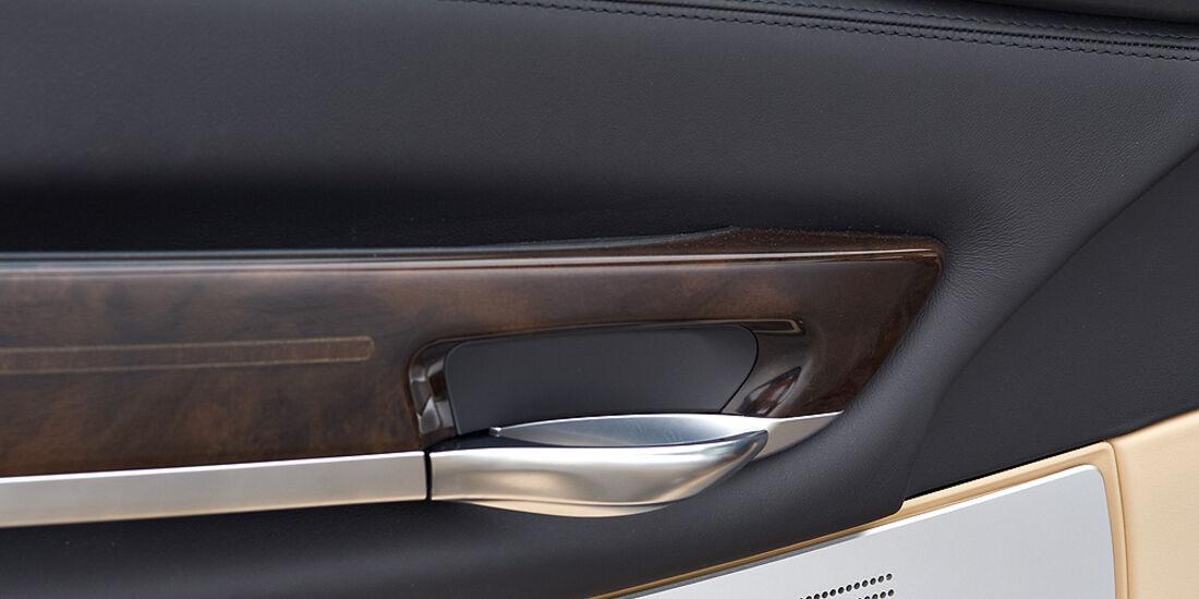 BMW 7er, fahrertür, Außenspiegel, Lautsprecher, Sitzverstellung