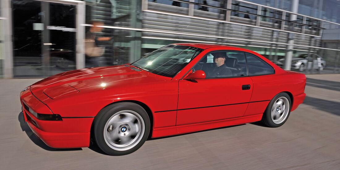 BMW 850i - 850 CSi, Seitenansicht