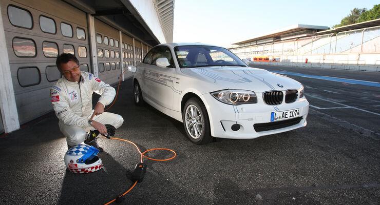 BMW Active E, Front, Akku Laden, Jochen Übler