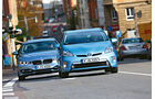 BMW Active Hybrid 3, Toyota Prius Plug-in Hybrid, Frontansicht