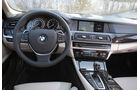 BMW Active Hybrid 5, Lenkrad, Cockpit