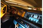 BMW Active Hybrid5, Bildschirm, Lenkrad